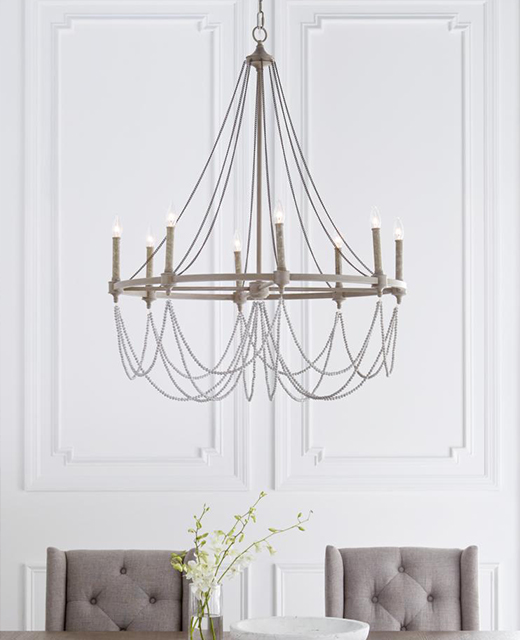 MF33328FWODWW Chandeliers - Feiss