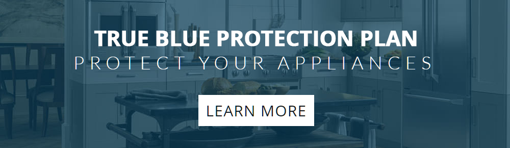 True Blue Discover Your Kitchen Banner