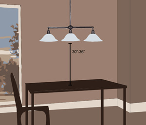 Dining Room Pendant Placement