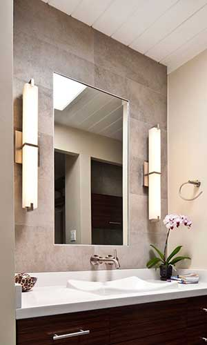 Wall sconce buying guide at fergusonshowrooms bathroom wall sconce mozeypictures Images
