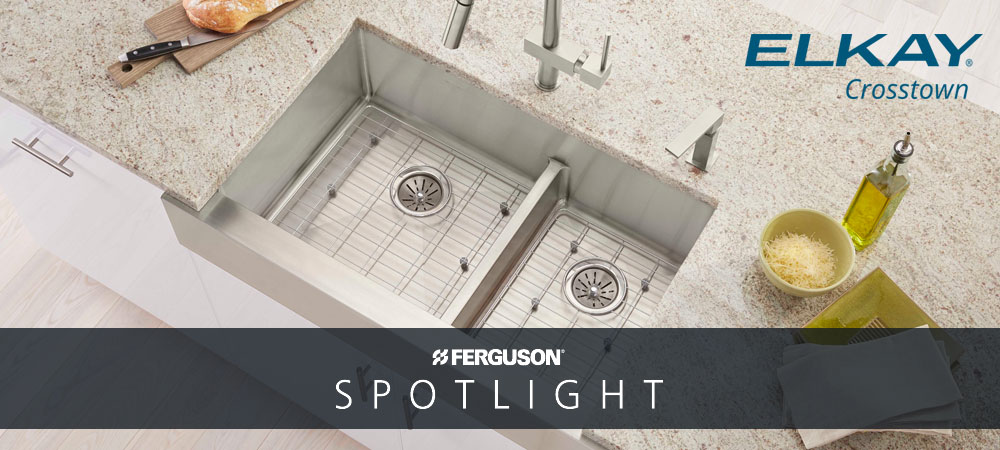 Elkay Crosstown Stainless Steel Kitchen Sinks