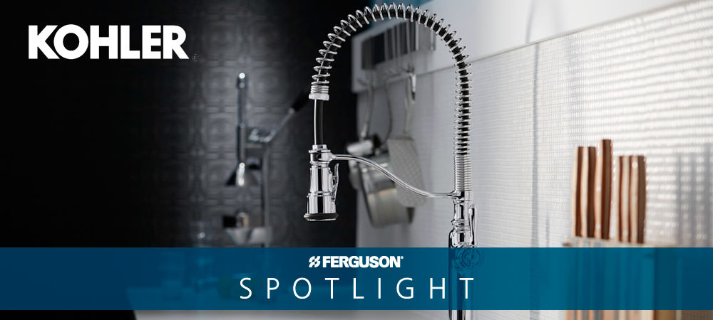 Kohler Tournant™ Semi Professional Pull Down Kitchen Faucet