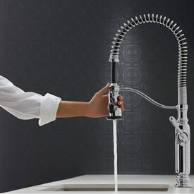 Kohler Tournant Semi Professional Pull Down Kitchen Faucet